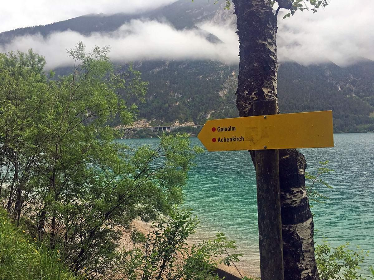 hiking the gaisalmsteig