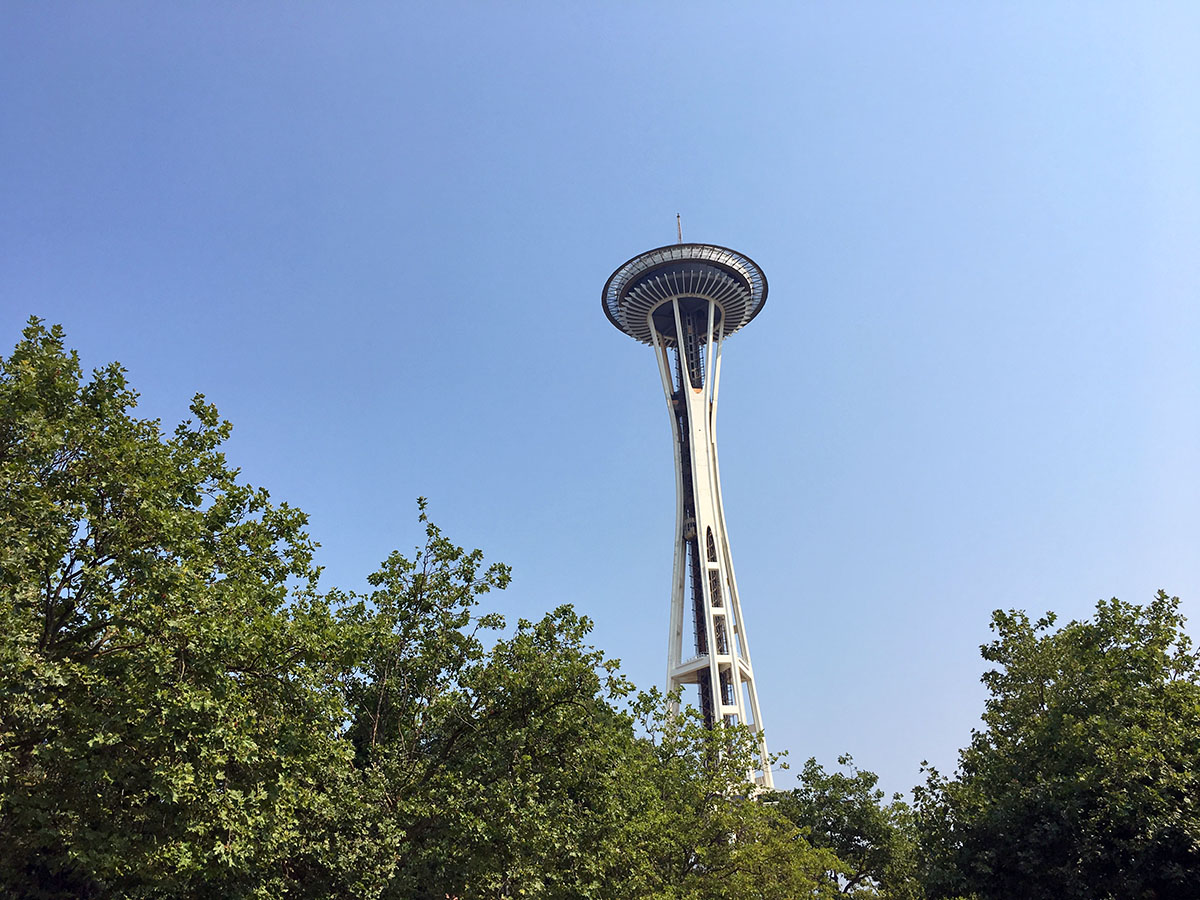 rondreis pacific northwest seattle space needle