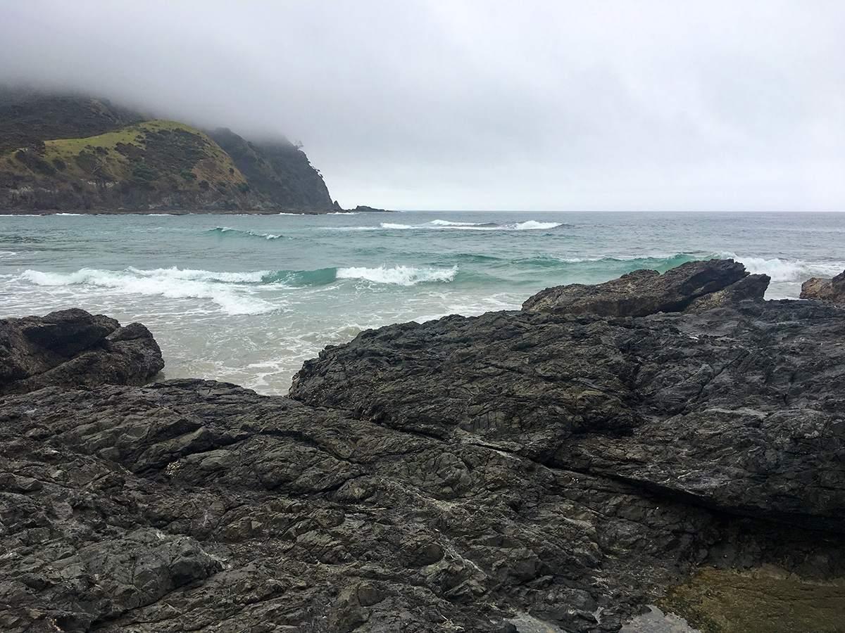 Tapotupotu Bay beach