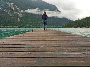 Wandelen op de Gaisalmsteig aan de Achensee