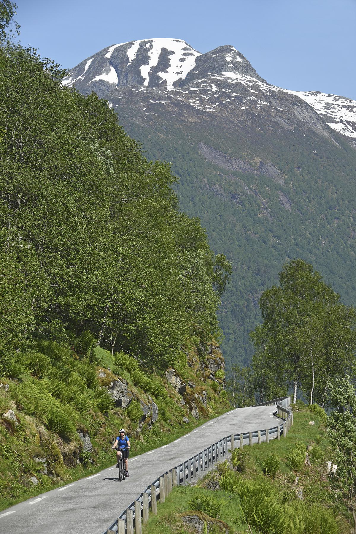 fietsen in noorwegen biking in norway