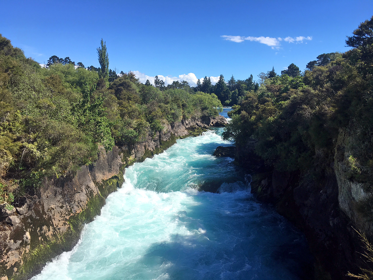 huka falls taupo things to do in taupo
