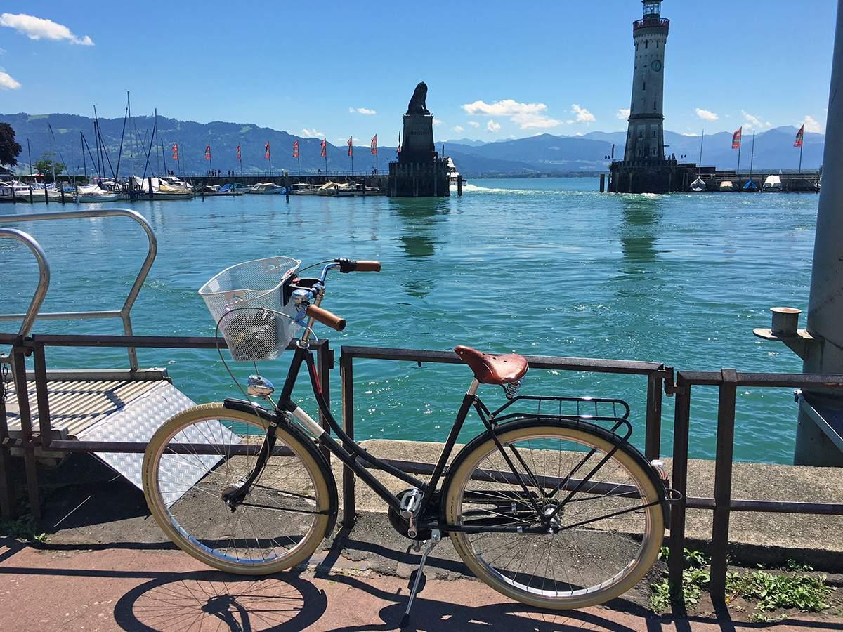 fietsen aan de bodensee