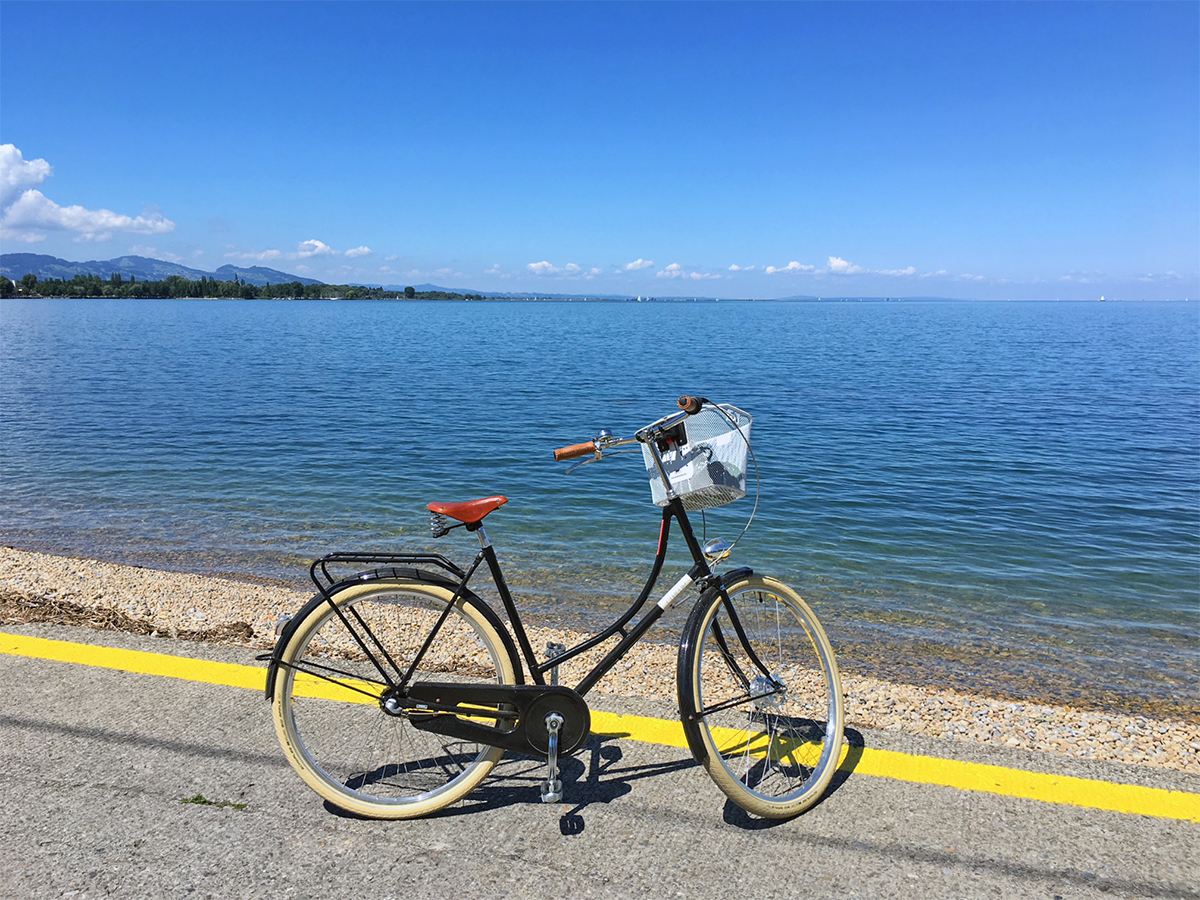 fietsen langs de bodensee