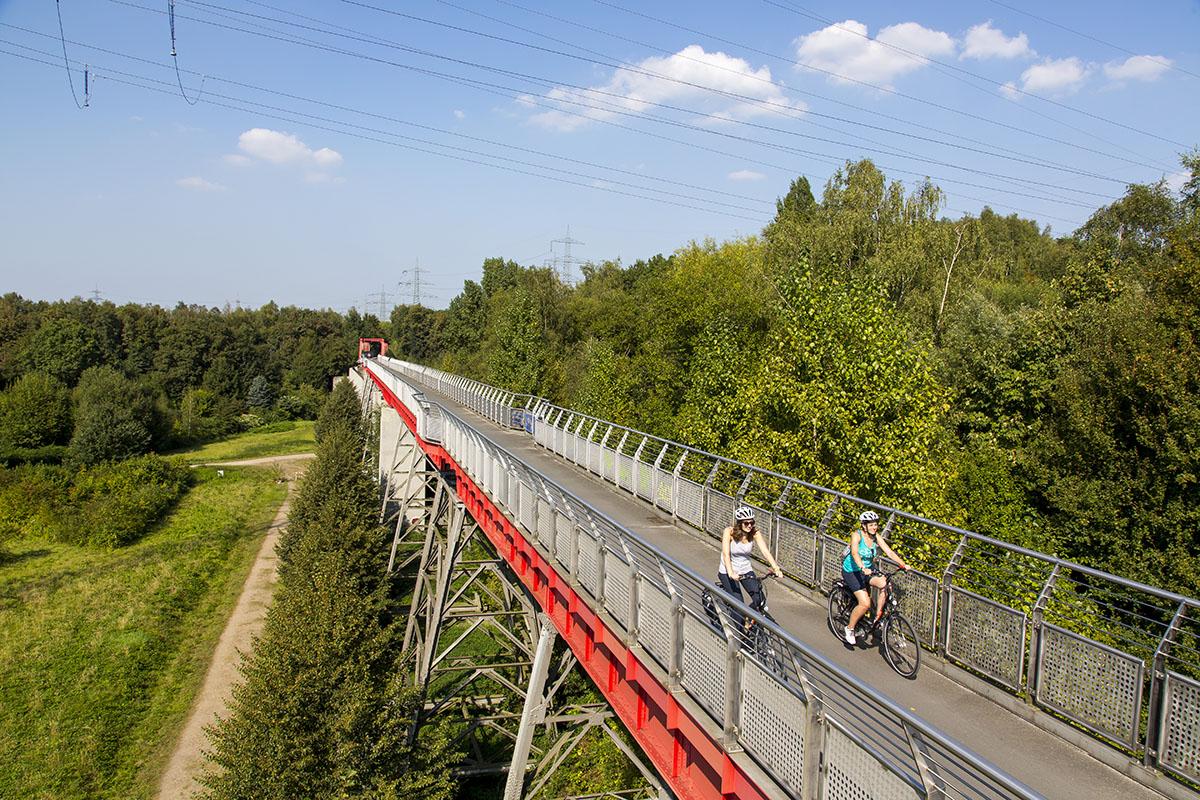 fietsen in het ruhrgebied