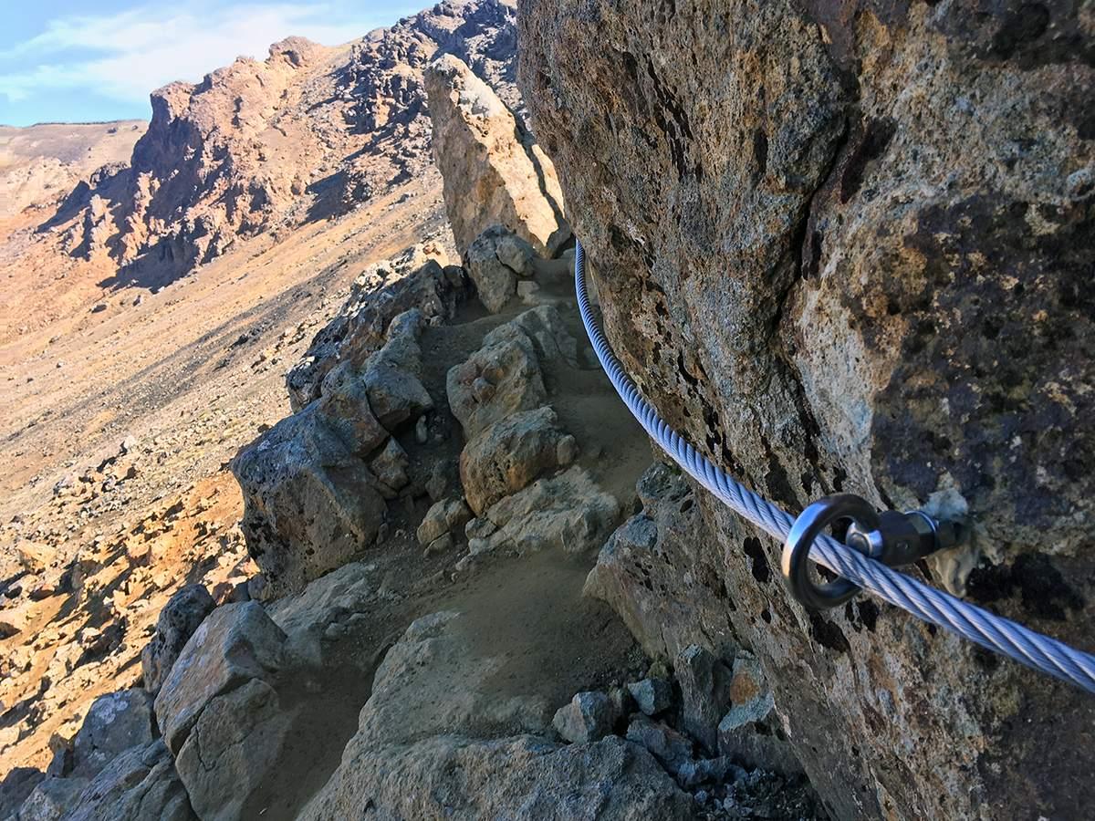 chains on tongariro crossing