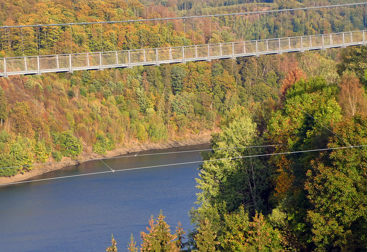 Titan RT the longest swingbridge in Germany