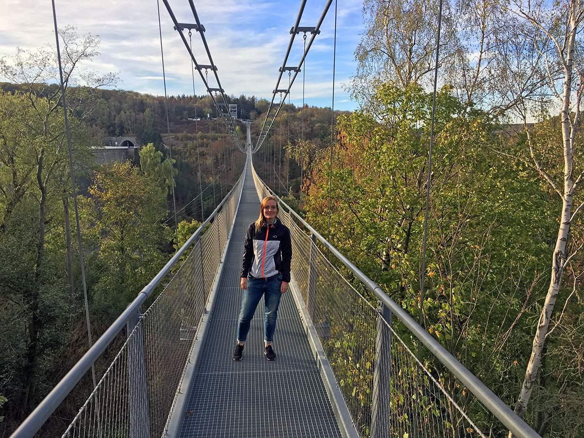 Titan RT hangbrug Harz Duitsland