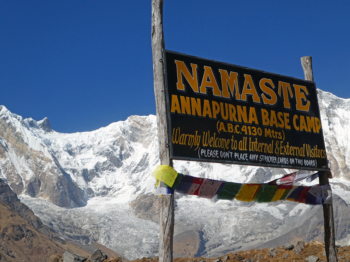 Annapurna Base Camp of Everest Base Camp