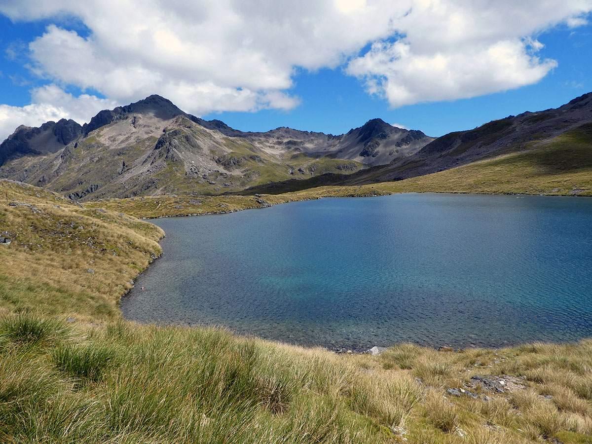 angelus hut hike nelson lakes national park