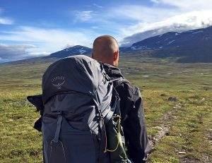 Getest: Osprey Atmos AG 50 rugzak op de Kungsleden in Zweden