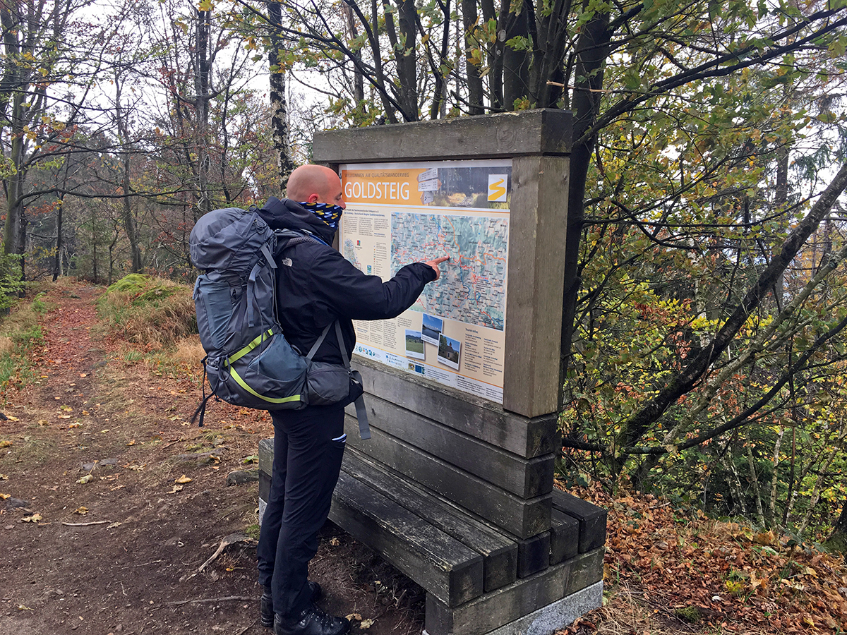goldsteig wandelen goldsteig hike