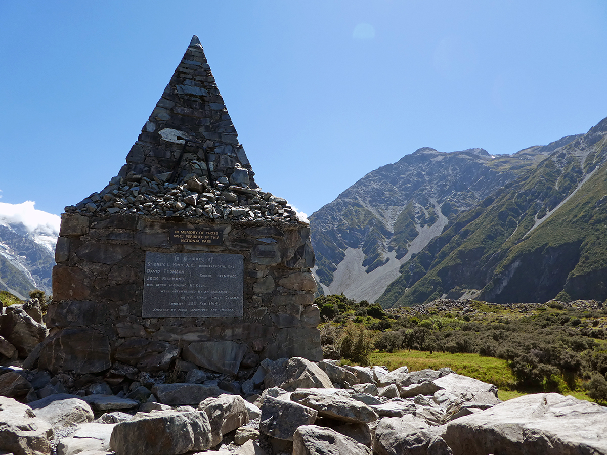 Alpine Memorial Mount Cook