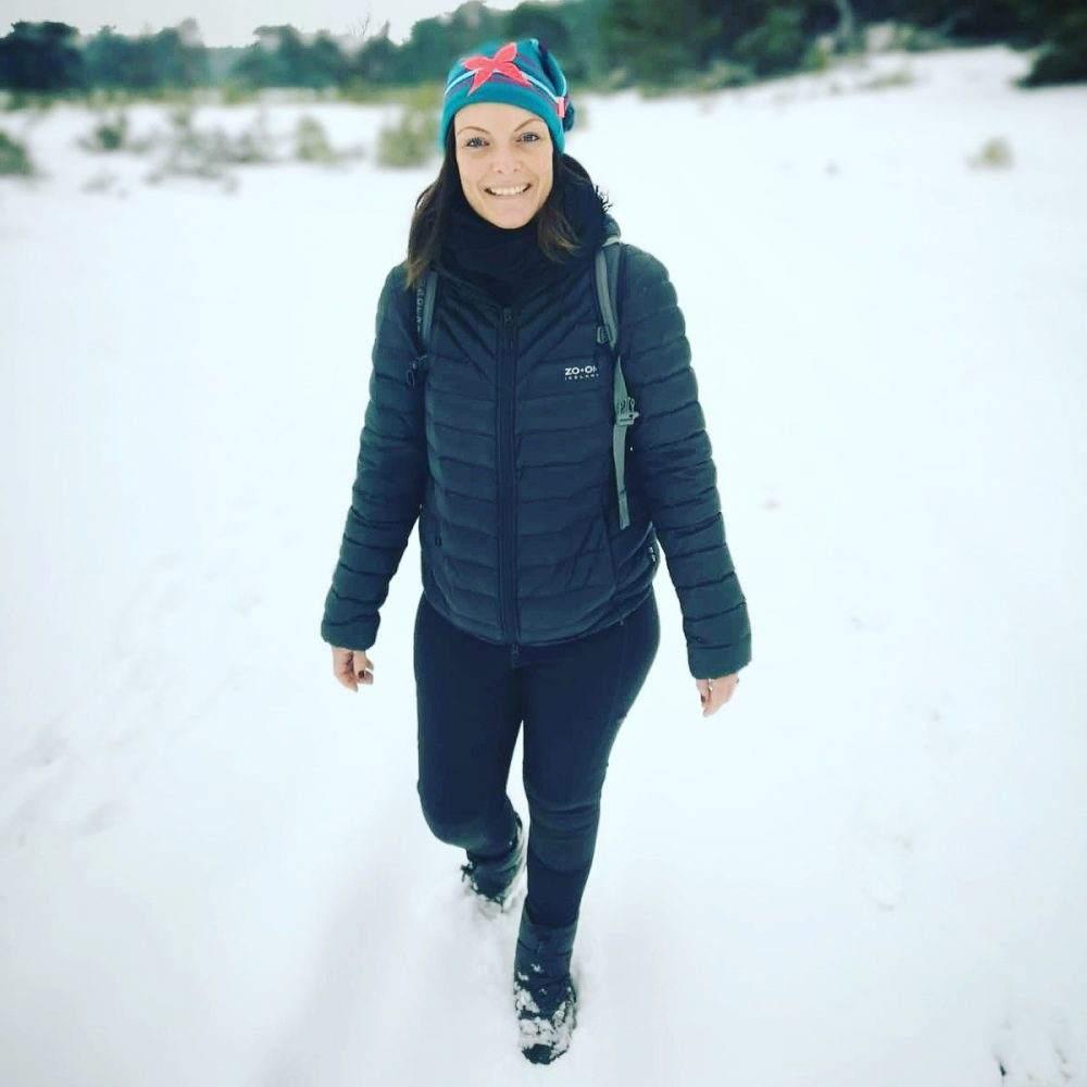 winterse wandeling in park de hoge veluwe
