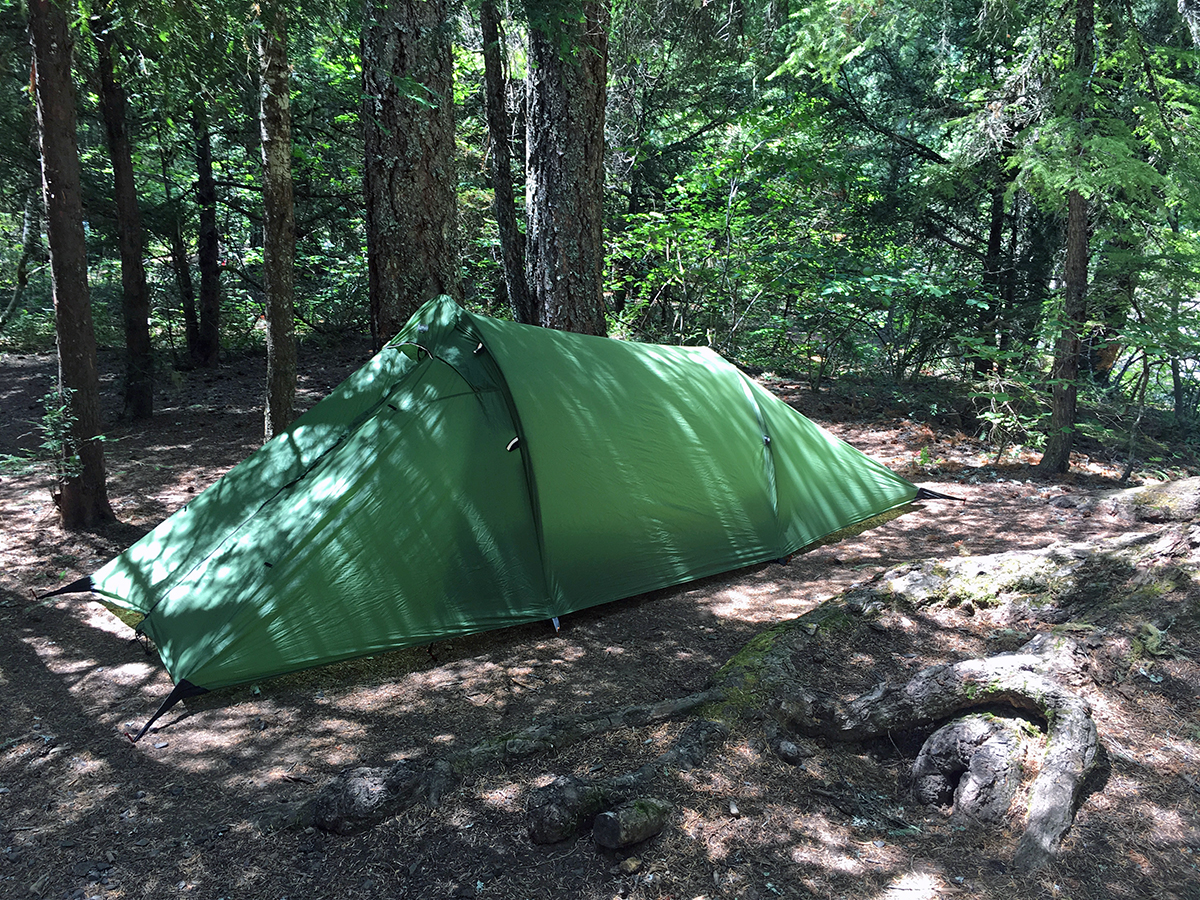 camping near crater lake