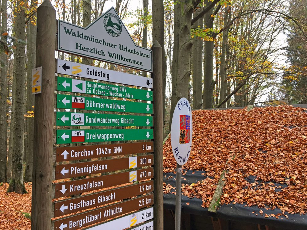 hiking the Goldteig