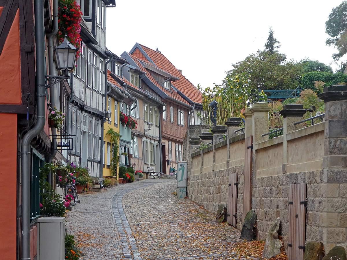 Mooie plaatsen in de Harz vakantie Quedlinburg