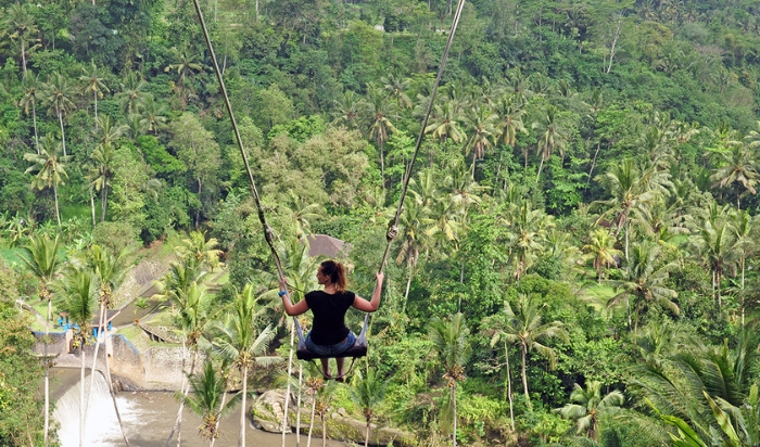 The Bali Swing: a playground for adults