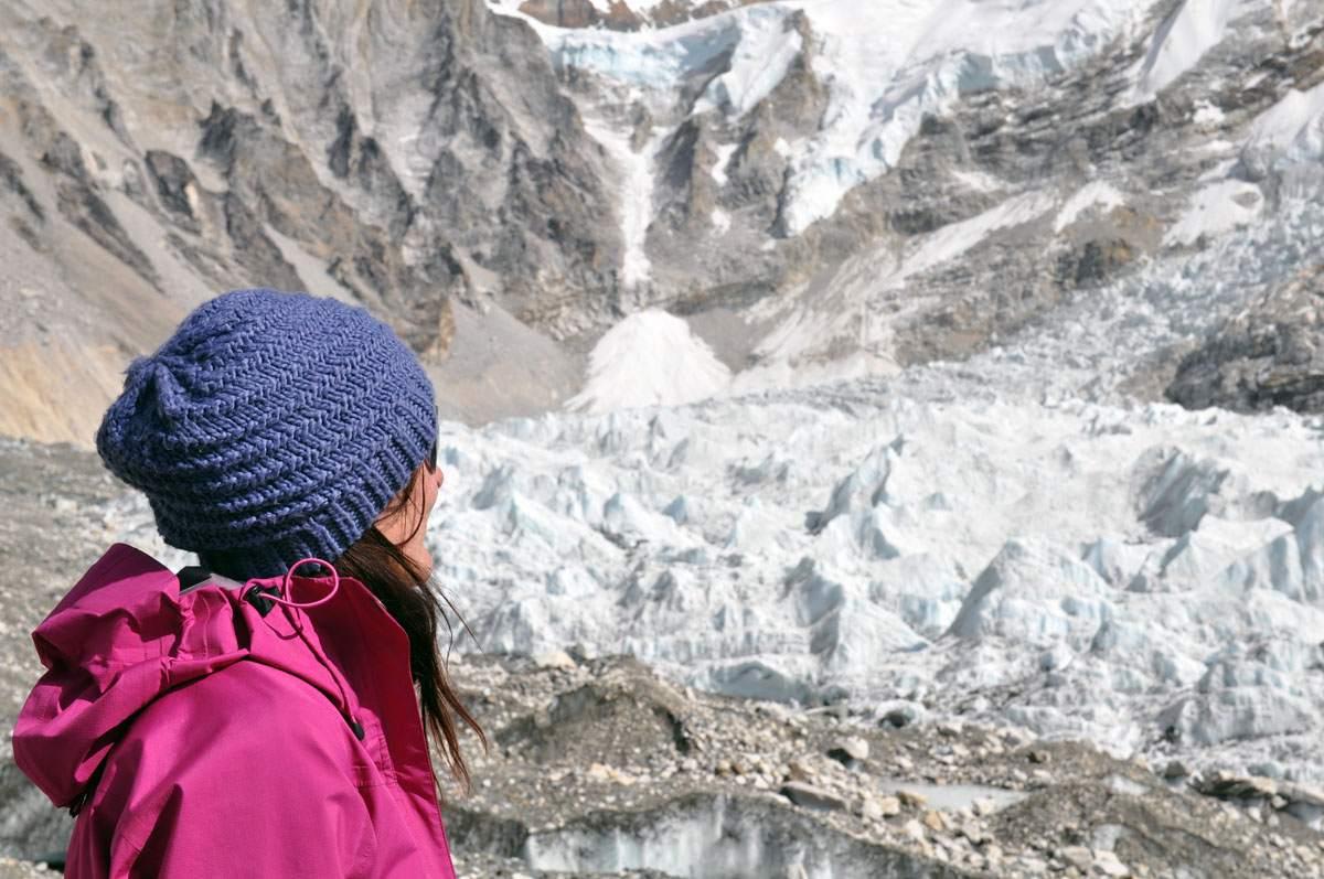 Hiking to Mount Everest Base Camp