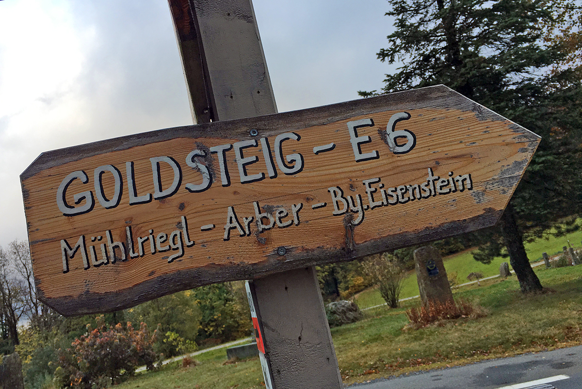hiking the Goldsteig in Germany