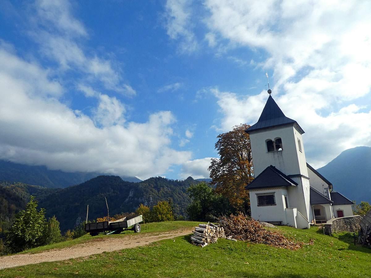 Wandelen in Slovenië Begunje