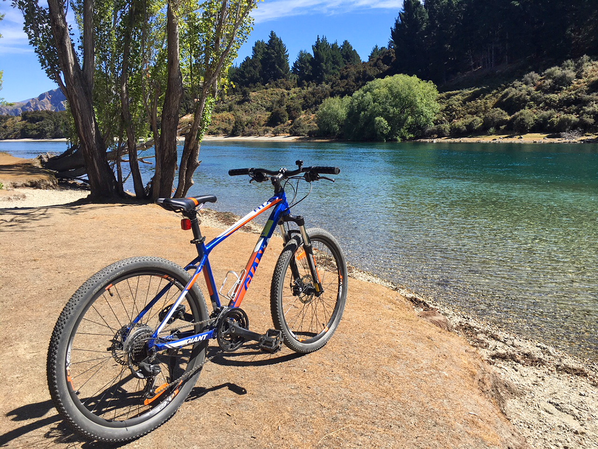 cycling in Wanaka