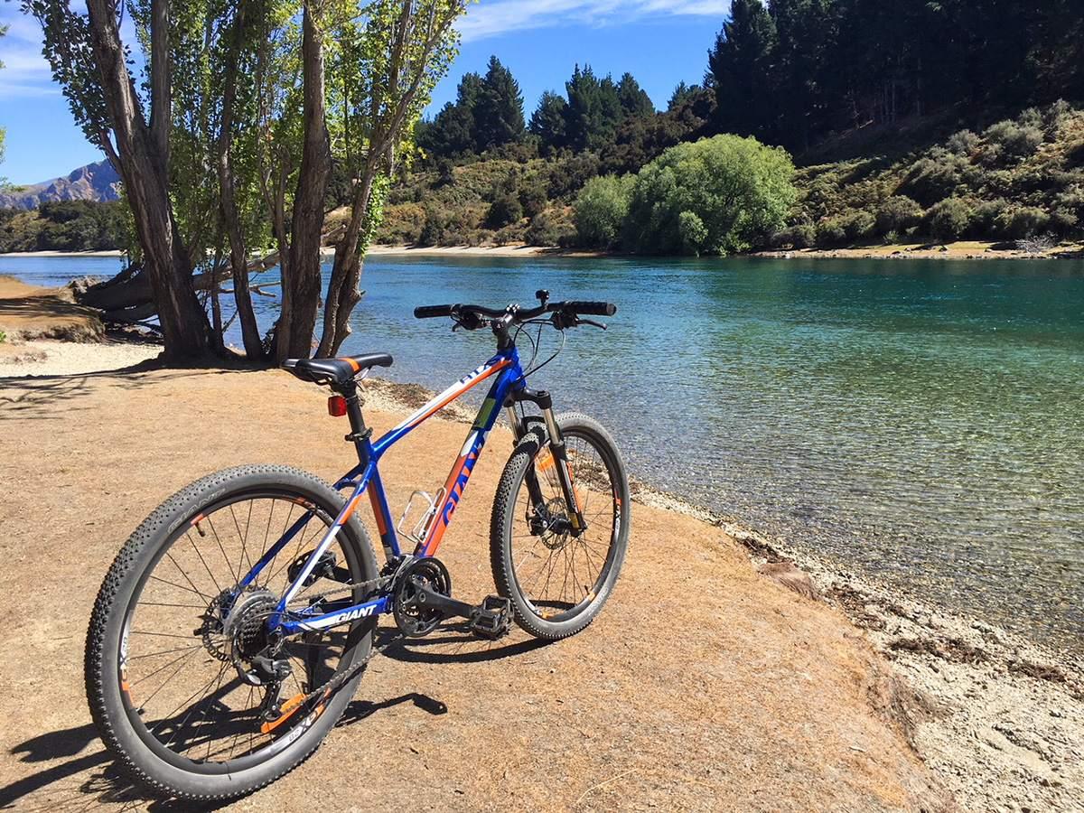 cycling in Wanaka