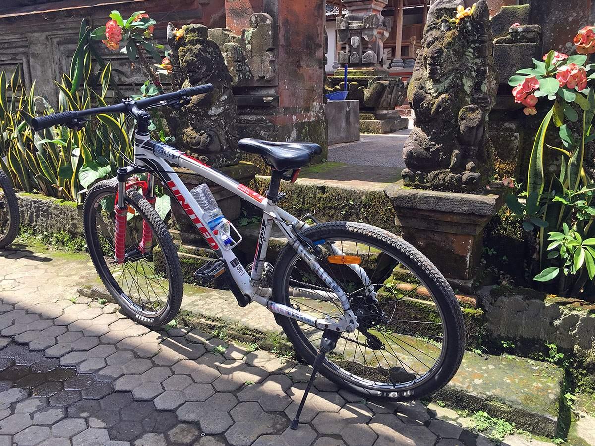 bike tour bali ubud