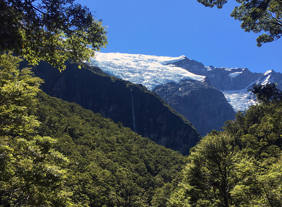 Rob Roy Glacier near Wanaka