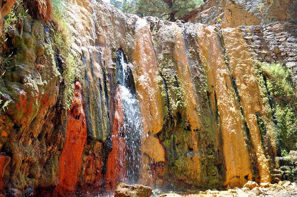 Casaca de los Colores wandelen op La Palma