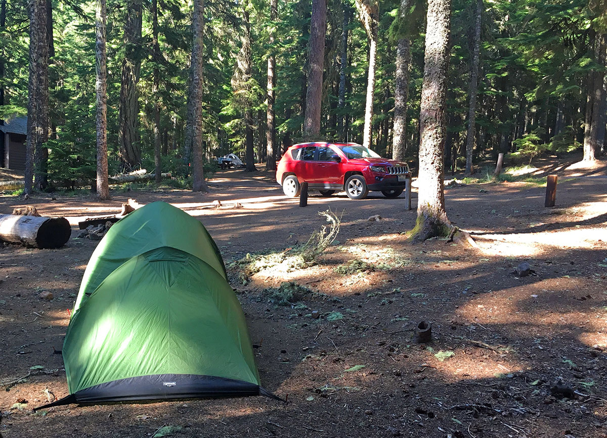 Clear Lake Camping Mount Hood