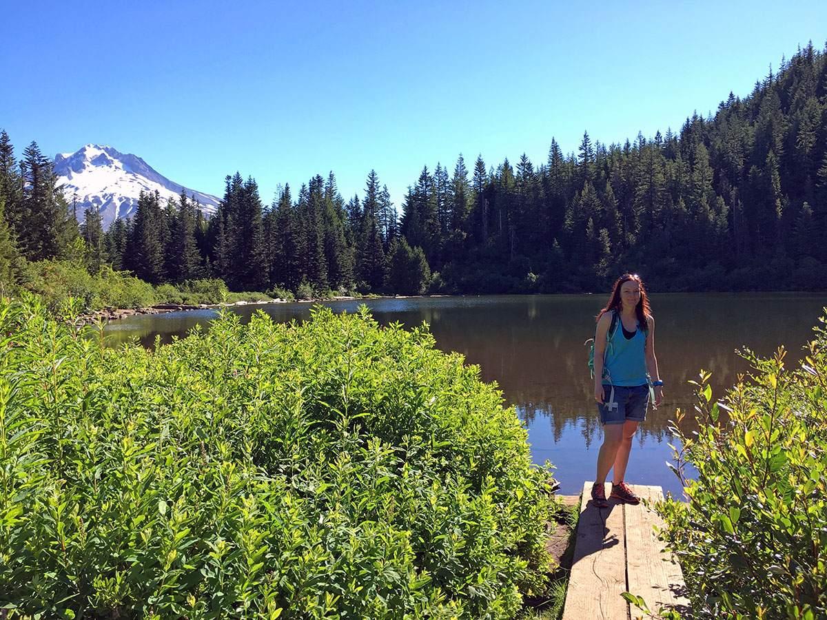 Mirror Lake Trail Mount Hood