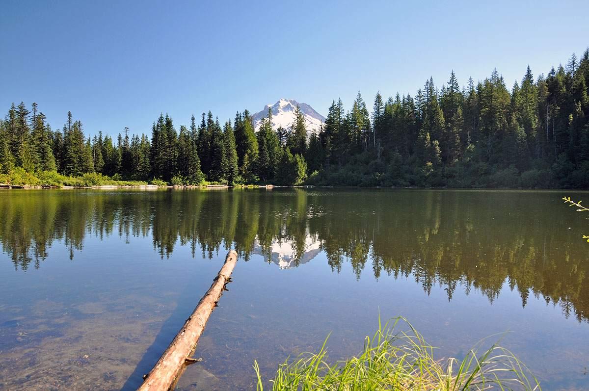 Mirror Lake Mount Hood