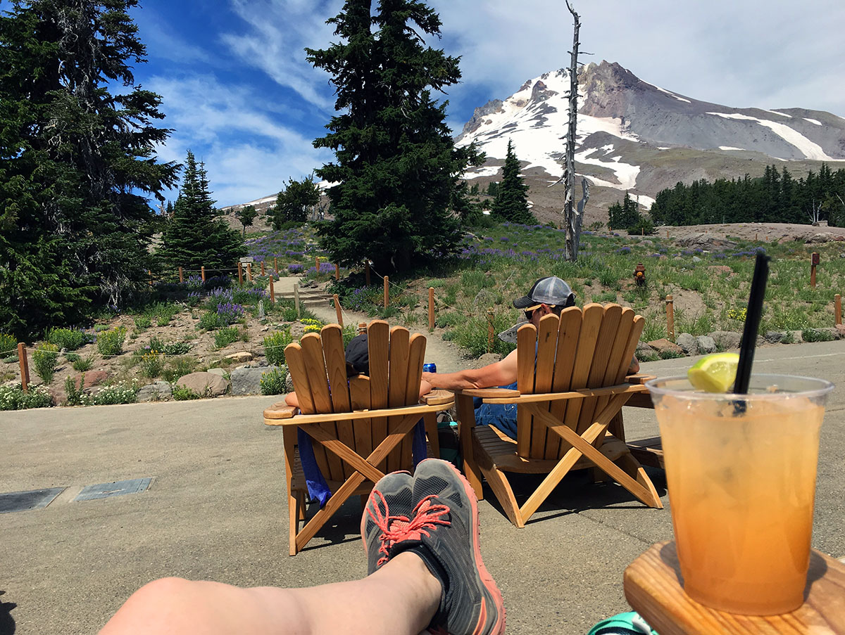 Timberline Lodge Oregon view