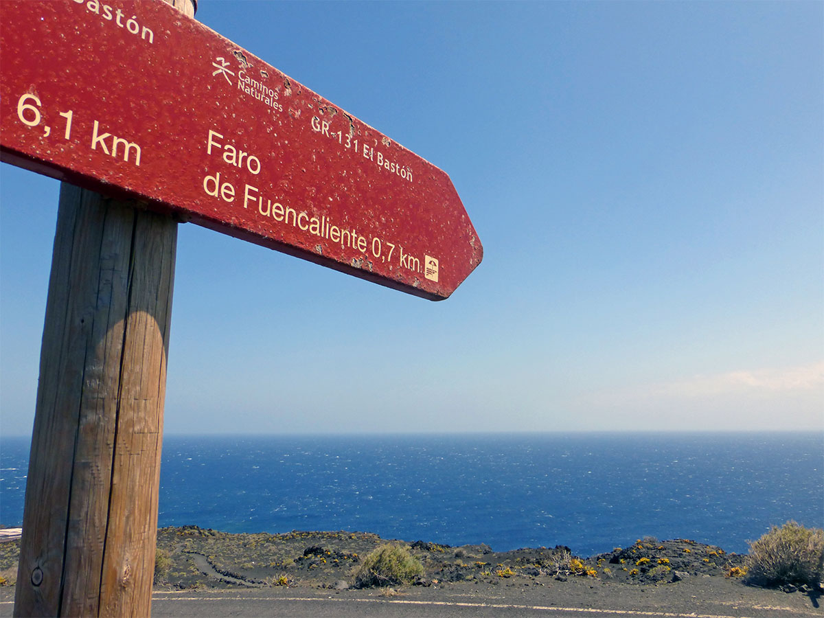 Wandelen op La Palma Fuencaliente