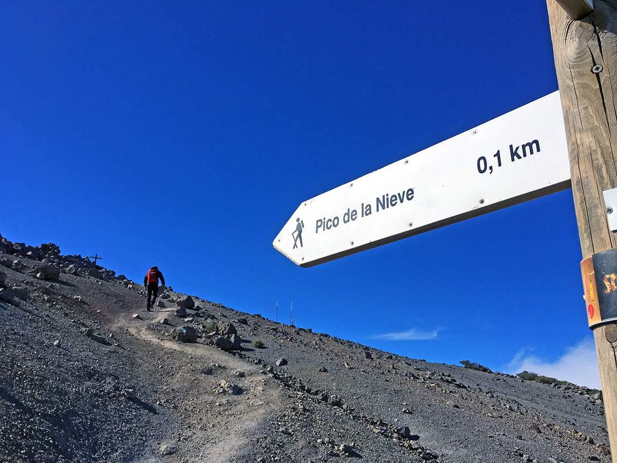 Pico de la Nieve wandeling La Palma