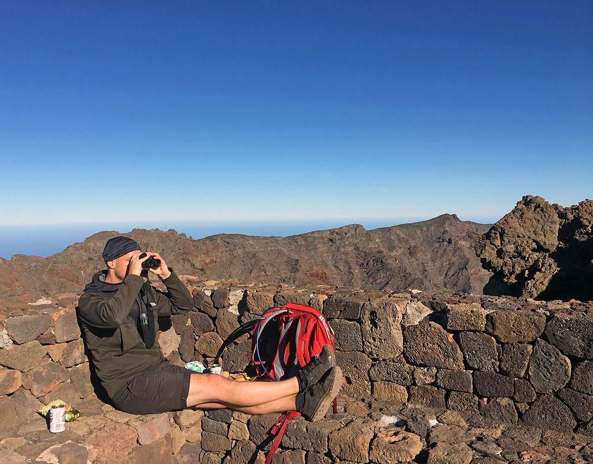 Roque de las Muchachos wandelen op La Palma