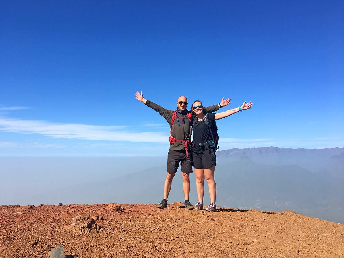 Pico Birigoyo wandelen op La Palma wandelroutes