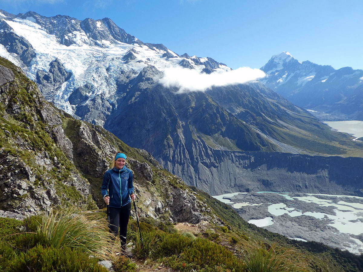 Sealy Tarns Mt Cook hikes