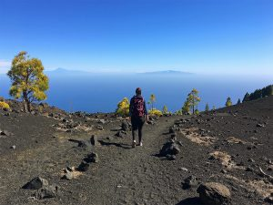 hiking on la palma