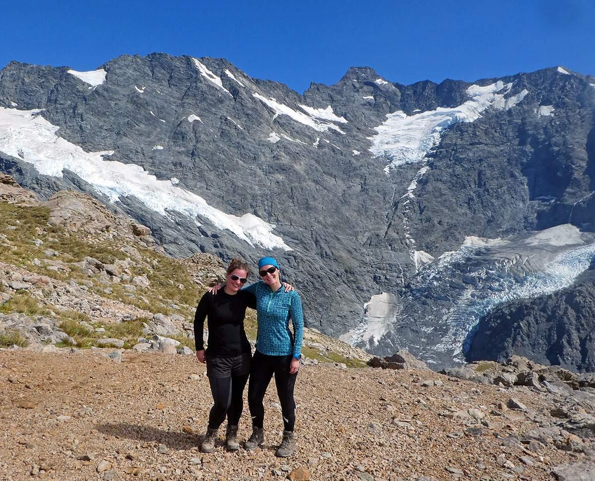 Met Marieke in Nieuw-Zeeland