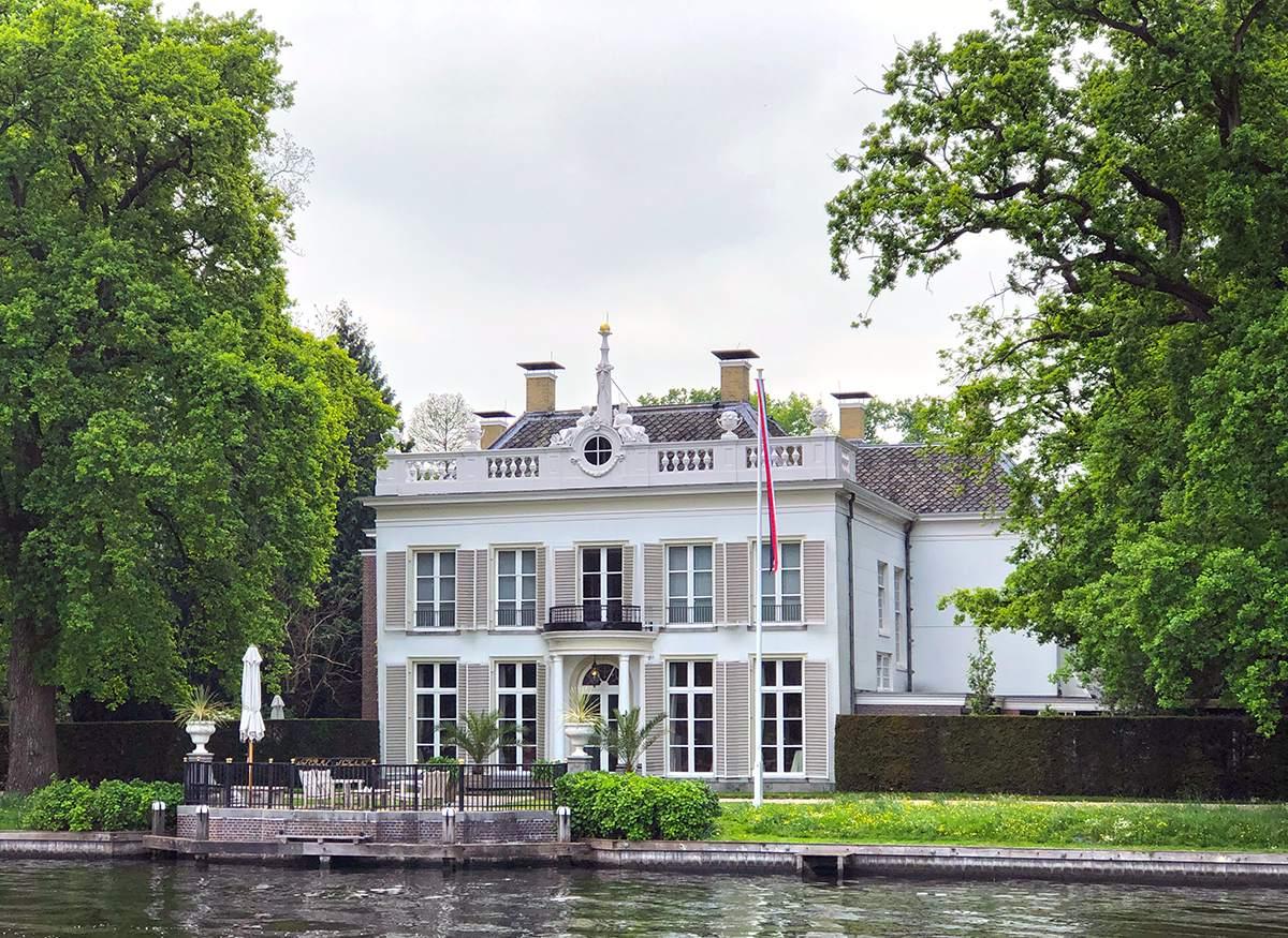Buitenplaatsen aan de Vecht Fietsroute Utrecht