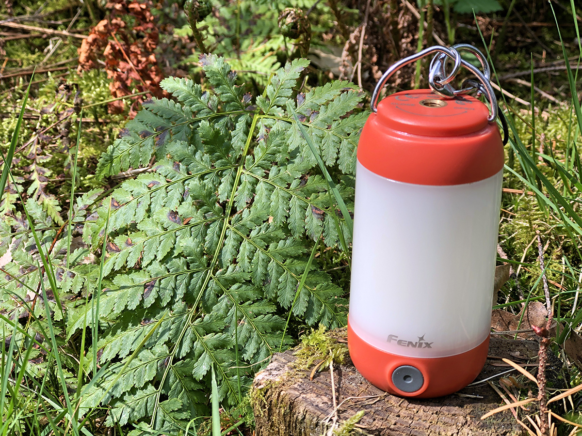 Fenix CL26R oplaadbare campinglamp