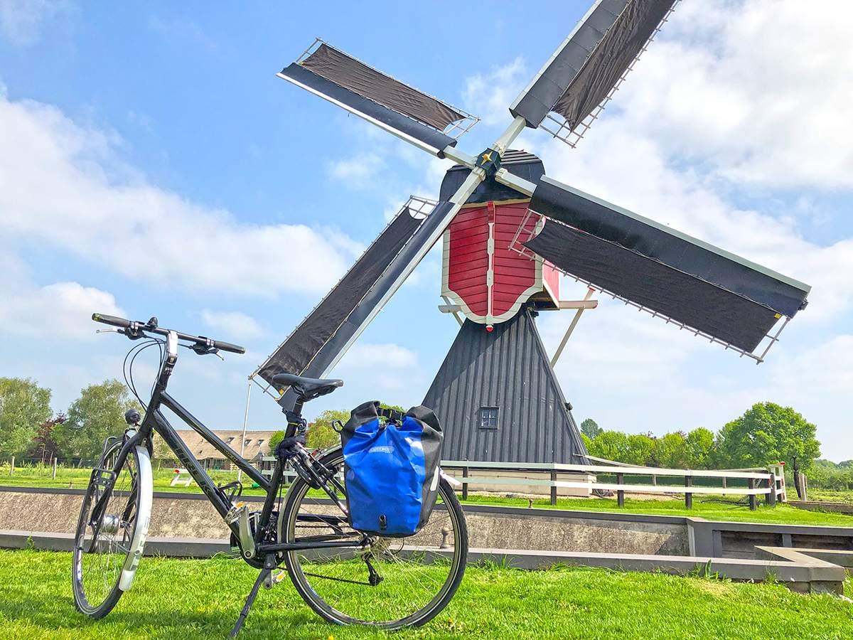 Fietstocht in Utrecht