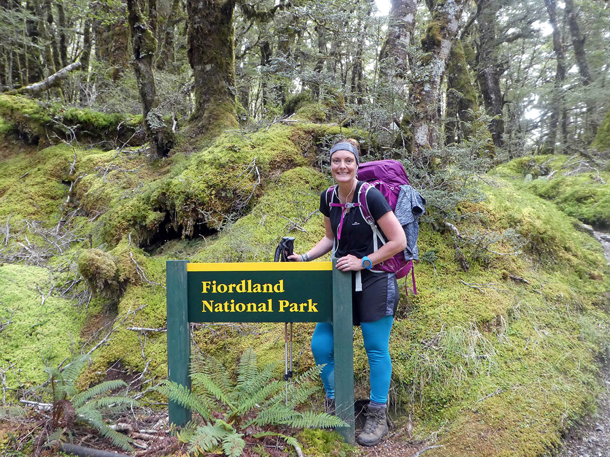entrance into Fiordland National Park