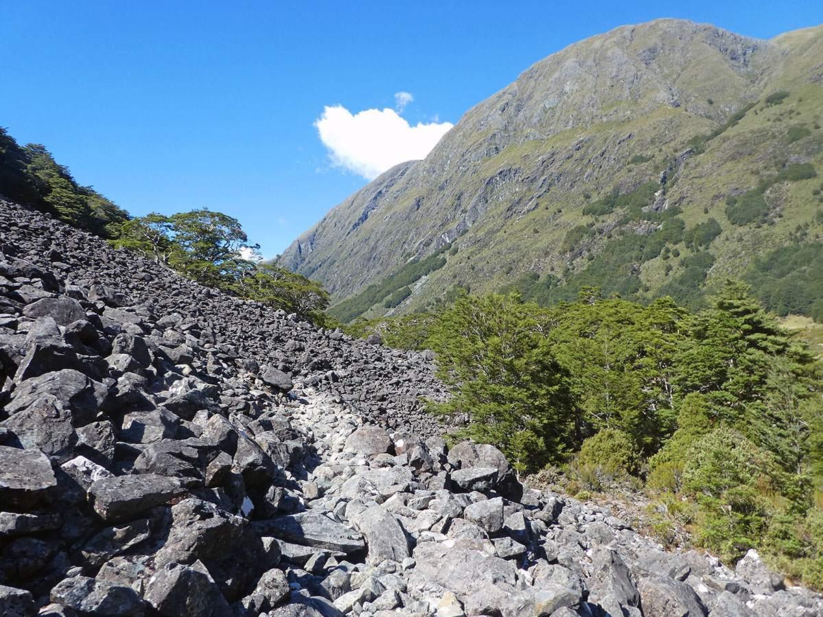 Greenstone Track landslide