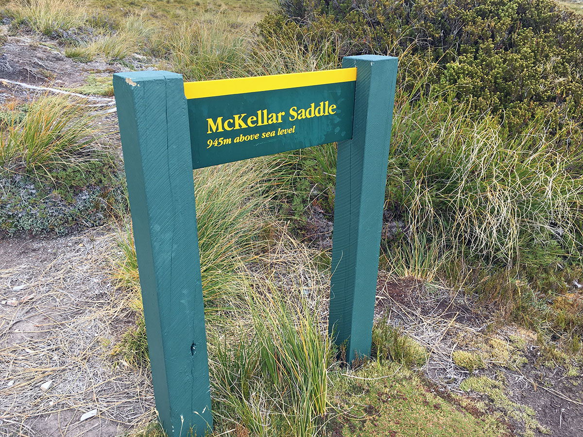 McKellar Saddle sign