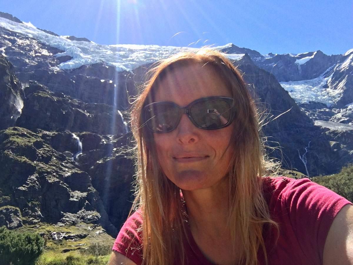 Rob Roy Glacier hike NZ