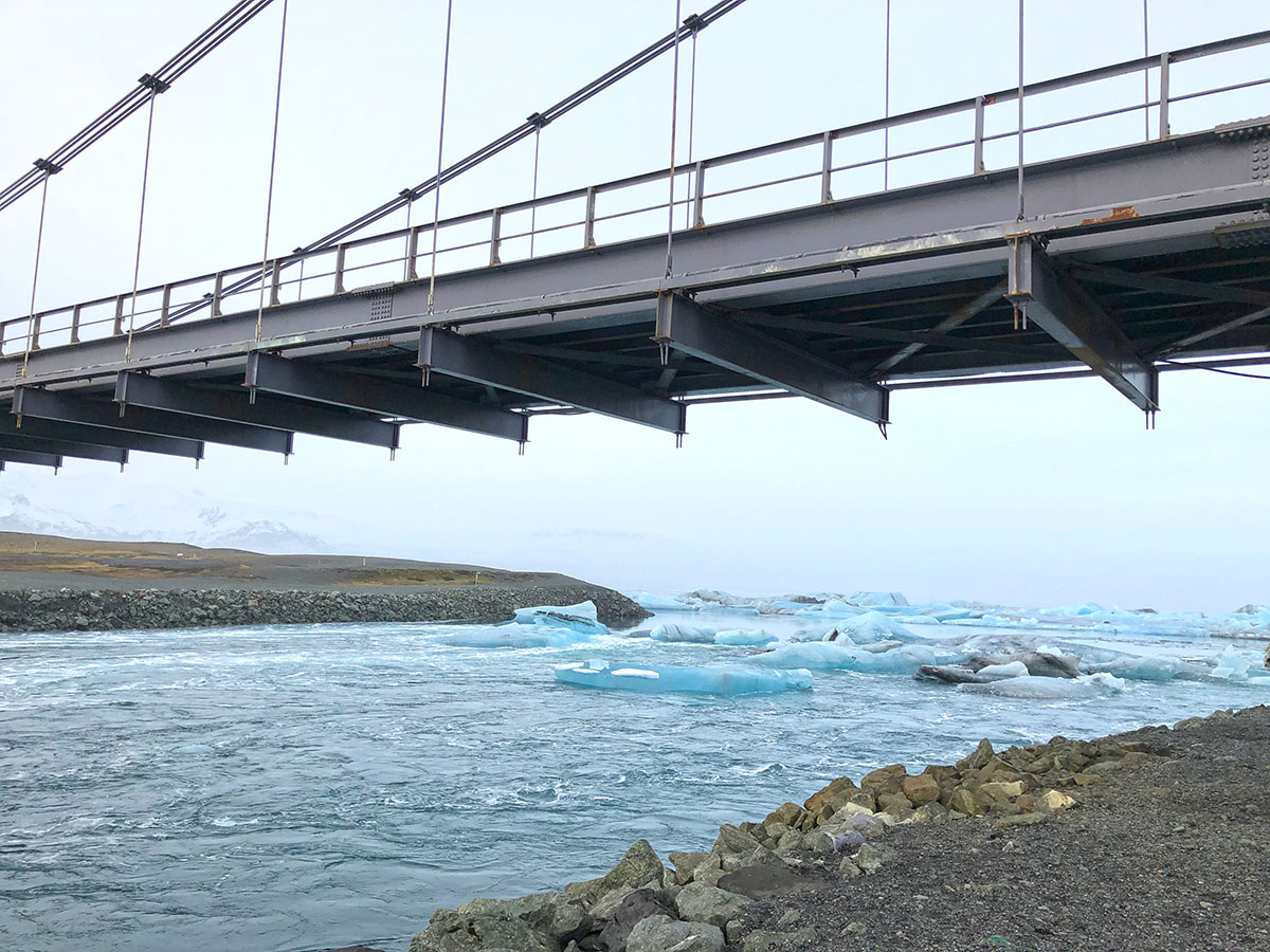 Bridge at Jökulsárlón
