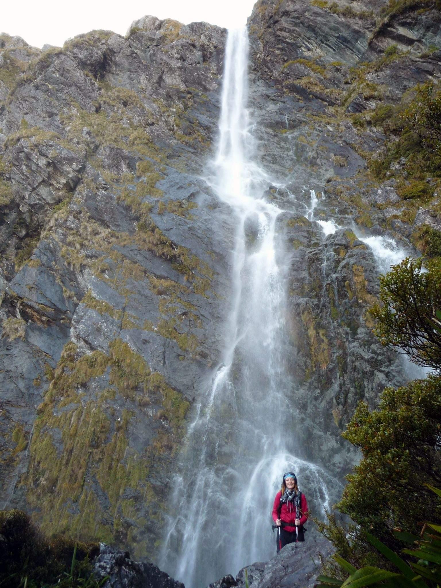 Earland Falls walk New Zealand